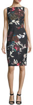 Trina Turk Beverly Sleeveless Floral-Print Dress