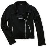 Zara Terez Girls 7-16) French Terry Asymmetrical Moto Jacket