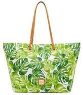 Dooney & Bourke Addison Tropical Leaf Tote Bag