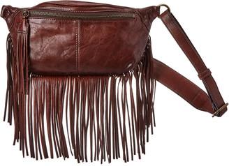 Frye Sacha Small Leather Fringe Bag