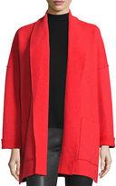 Eileen Fisher Boiled Wool Kimono Jacket, Petite