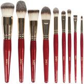 Juvia's Place 9 Piece Pro Red Brush Set