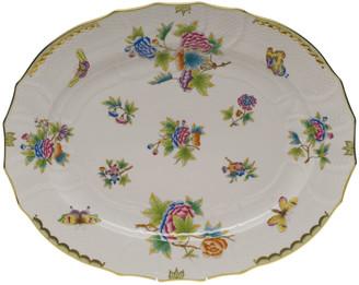 Herend Queen Victoria Turkey Platter