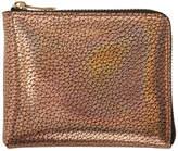 Paul Smith Gold Corner Zip Wallet