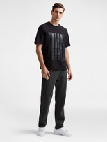 DKNY Stripe Graphic Tee