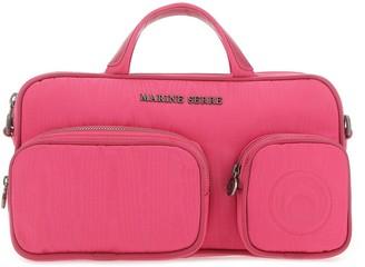 Marine Serre Pocket-Detailed Shoulder Bag