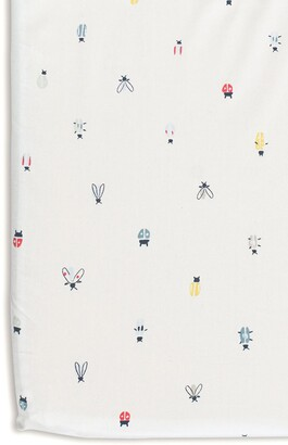 Pehr Love Bug Organic Cotton Crib Sheet