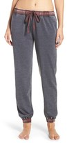 Daniel Buchler Women's Washed Cotton Blend Sweatpants