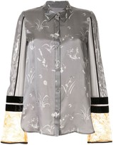 Mame Kurogouchi floral print shirt