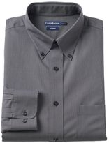 Croft & Barrow Men's Slim-Fit No Iron Button Down-Collar Dress Shirt