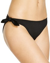 Shoshanna Soft Black Bikini Hipster Bottom