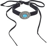 Leather Rock N226 Necklace