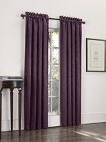 Sun Zero Cadence Velvet Textured Woven Blackout Curtain Panel, 52 by 84-Inch