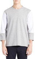 Marni Men's Mixed Media Colorblock T-Shirt