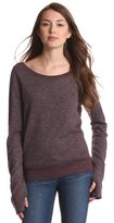 So Low SOLOW Women's V-Back Pullover