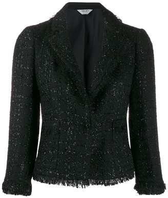 Liu Jo Tweed Cropped Jacket