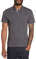 Ted Baker Men's Frankiy Button Collar Polo