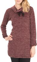 Point Zero Cowl Neck Sweater Dress