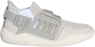 Lanvin Low Sneaker With Elastic Details