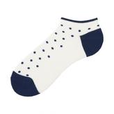 Uniqlo MEN Pile Dots Short Socks