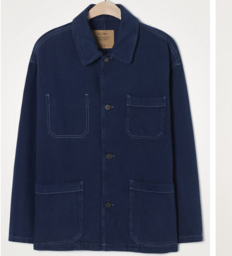 American Vintage Tineborow Jacket Indigo - M