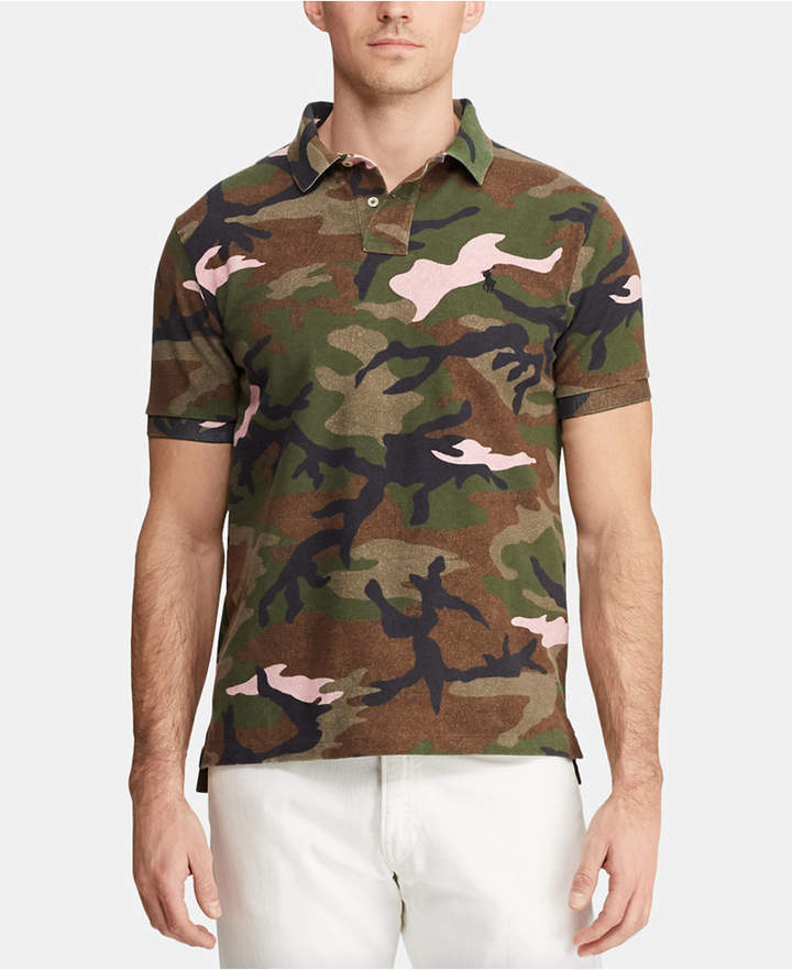 2d9943bd Camo Polo Shirt - ShopStyle