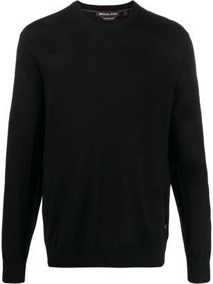Michael Kors fine knit crew neck sweater