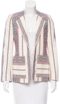 Derek Lam 10 Crosby Embroidered Open Front Blazer w/ Tags