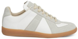 Maison Margiela Leather Low-Top Sneakers