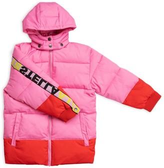 Stella McCartney Kids Colour-Block Puffer Jacket (2-14+ Years)