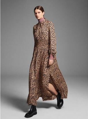Baum und Pferdgarten Amber Leopard Print Maxi Dress - 36