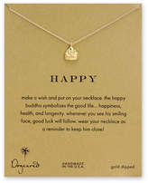 Dogeared Happy Buddha Necklace