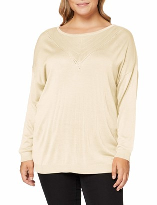 ONLY Carmakoma Women's CARKATH L/S Pullover KNT Sweater