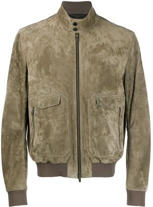 Ajmone Zipped Bomber Jacket