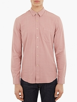 Pink Raw Silk Shirt