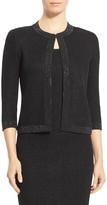 St. John Sequined Allure Knit Jacket