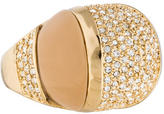 Rachel Zoe Crystal Cocktail Ring