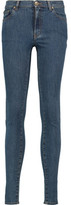 RED Valentino High-Rise Skinny Jeans