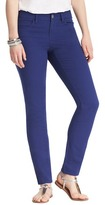 "LOFT Curvy Skinny Ankle Jeans in Twilight Blue with 29"" Inseam"