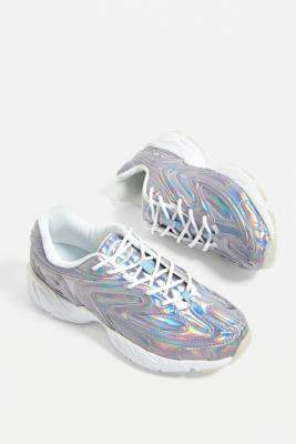 Fila Creator Iridescent Trainers - white UK 3 at Urban Outfitters