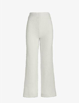 SKIMS Ladies Cream Cozy Knitted Pants, Size: XXS/XS