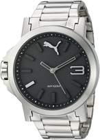 Puma Women's PU103462001 Ultrasize LDS Analog Display Quartz Silver Watch