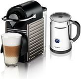 Nespresso Pixie Espresso Machine & Aeroccino+ Plus Milk Frother