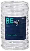 Room Essentials Plastic Shower Hooks Clear