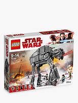 Lego Star Wars The Last Jedi 75189 First Order Heavy Assault Walker
