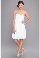 Donna Morgan Hallie Double Front Rosette Dress