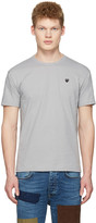 Comme des Garcons Grey Small Heart T-shirt