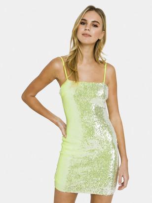 Endless Rose Neon Sequin Mini Dress
