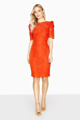 Paper Dolls Abbeville Puff Sleeve Lace Dress