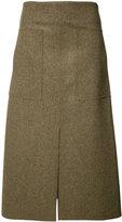 Josh Goot pleated skirt - women - Wool - XS